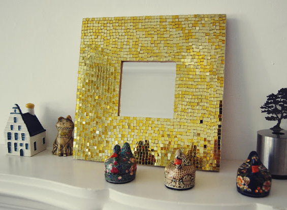 mosaic mirror finished п3