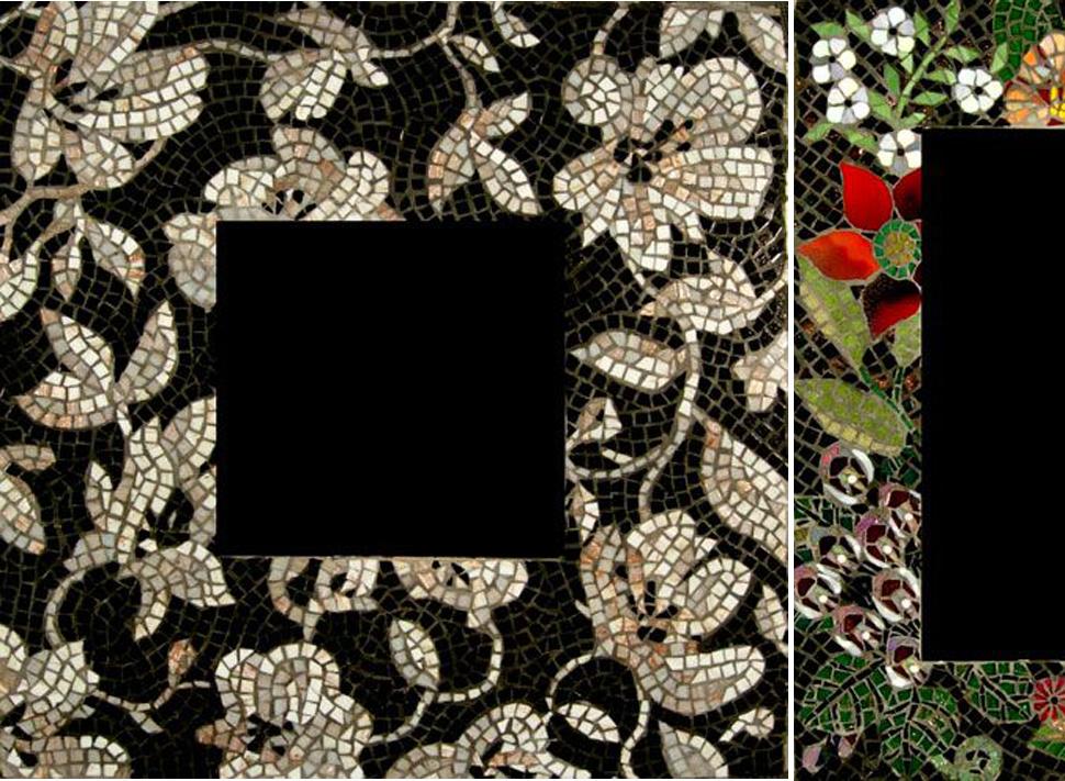 мозаика декор зеркало рама