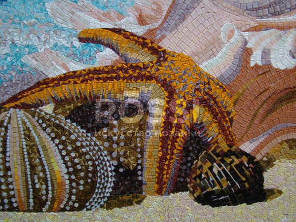 мозаика бассейн
