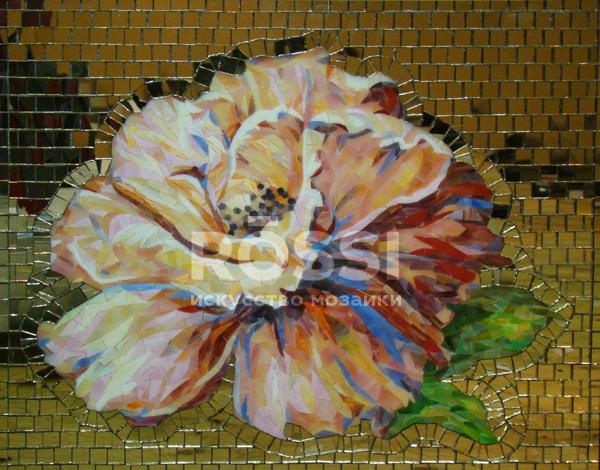 мозаика цветы