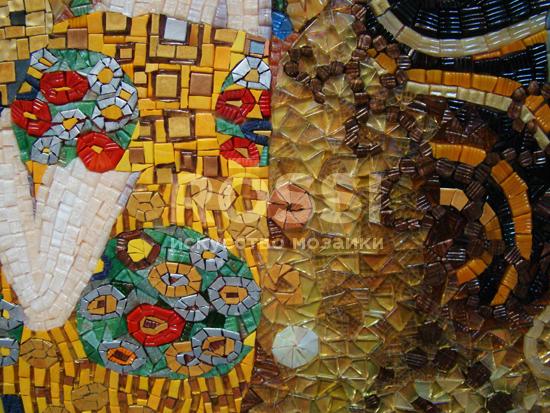 мозаика картина климт