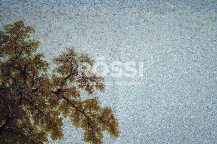 пейзаж мозаика росси панно