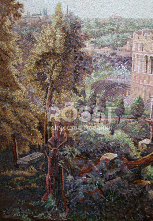 пейзаж росси мозаика