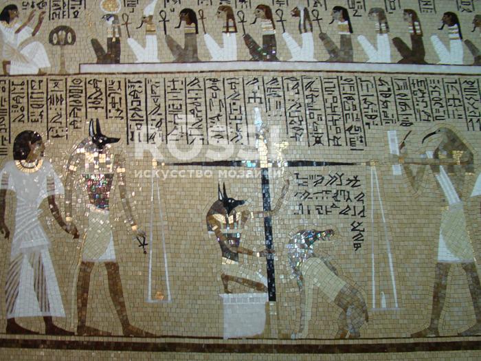 египет мозаика