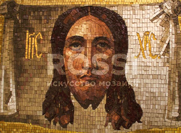 Икона мозаика франмент