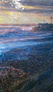 морская бассейн мозаика
