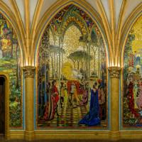гостиная панно мозаика