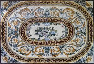 ковер мозаика орнамент