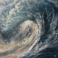 Волна мозаика