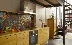 кухня фартук мозаика