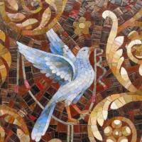 животные мозаика