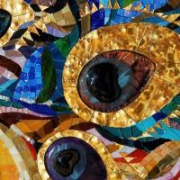 витражное стекло мозаика
